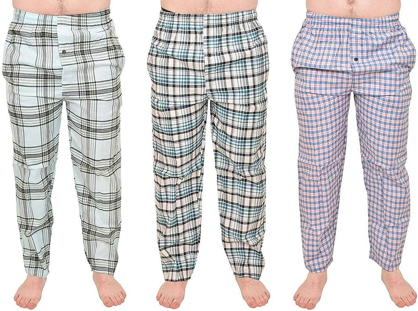 True Face Pijama de poliéster y algodón para Hombre 3 Pack Assorted Set 3 XL: Amazon.es: Ropa y accesorios