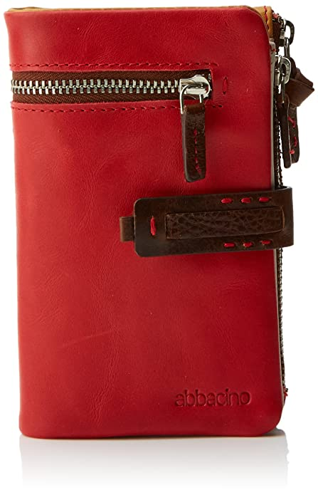 Abbacino 70032, Cartera para Mujer, Rojo (Red), 9x3x15 cm (W