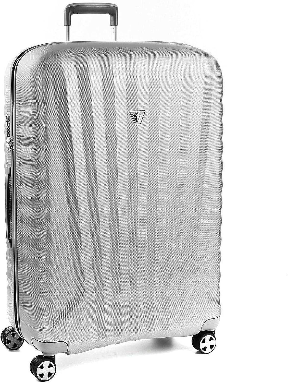 Roncato Maleta Grande L Rigida Uno Zsl Premium 2.0 - cm 80.5 x 53 x 28 Capacidad 109 L, Ligero, Organización Interna, Cierre TSA, Garantìa 10 años