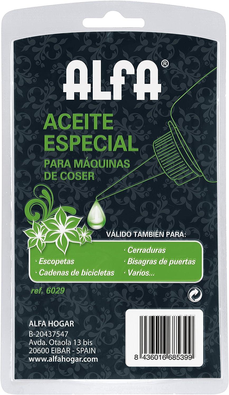 Alfa A018920100-Frasco de Aceite 100 ml: Amazon.es: Hogar