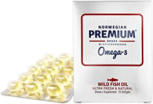 Win A Free Norwegian Premium Omega-3 by P.T-Johannessen Ultra Fresh…