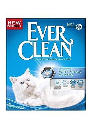 ever clean unscented extra strong clumping 6 lt ile ilgili görsel sonucu