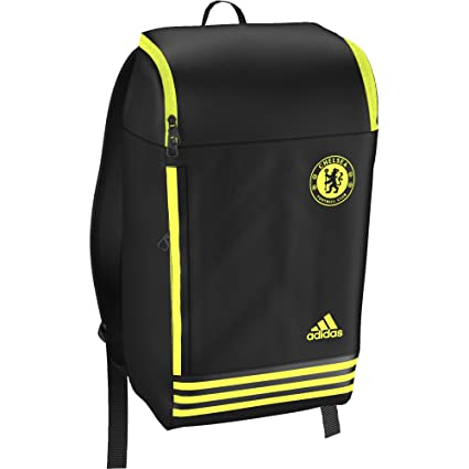 Amazon.com: Chelsea F.C. – Mochila grande negro y amarillo ...
