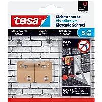 Tesa - Tornillo adhesivo para mampostería y superficies