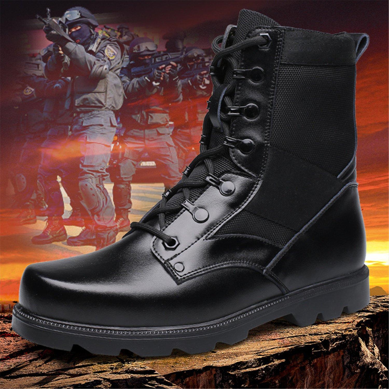 Men's Lace Up Martin Ankle Boots Black Motorcycle Shoe Combat Boot:  Amazon.ca: Shoes & Handbags