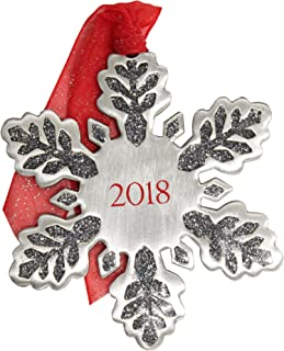 product image for Gloria Duchin Dated Snowflake Christmas Ornament, Multi