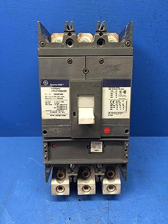 GE 3 POLE 400 AMP HI-BREAK CIRCUIT BREAKER SGHA36AT0400