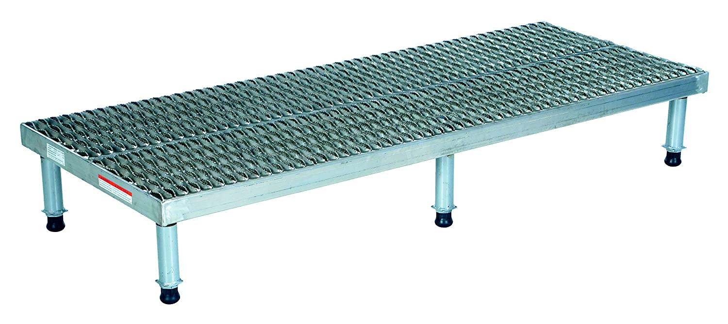 Vestil Ahw H 2496 A Adjustable Work Mate Aluminum Stand Serrated Surface 500 Lb Capacity 9 1 2 15 1 2 Height Range 23 5 8 Width X 96 1 8 Length Workbenches Amazon Com Industrial Scientific