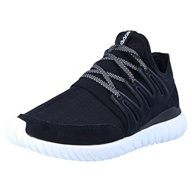 competitive price 7bacc 01ecb adidas Originals Tubular Radial S80114 Herren Trainers Black, Shoe Size 48  2 3