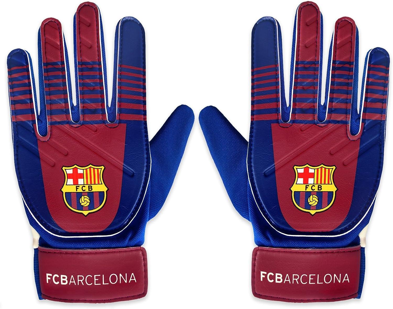 FC Barcelona - Guantes de portero oficiales - Para niños - Chicos ...