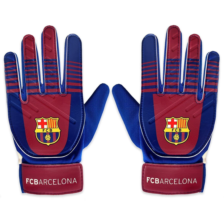 FC Barcelona - Guantes de portero oficiales - Para niños  Amazon.es   Deportes y aire libre 3aa19b8232f6b