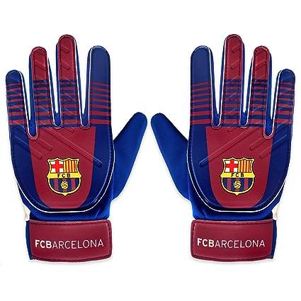FC Barcelona - Guantes de portero oficiales - Para niños ...
