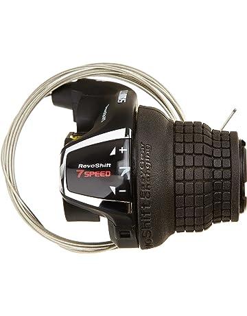 Ecisi 1 Paar Rapid Fire Shifter 3x8 Speed Trigger Mit Schaltzug Premium Schalthebel Set F/ür MTB//City//Trekking Umwerfer