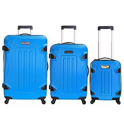 Ossett conjunto de 3 maletas duras, Azul
