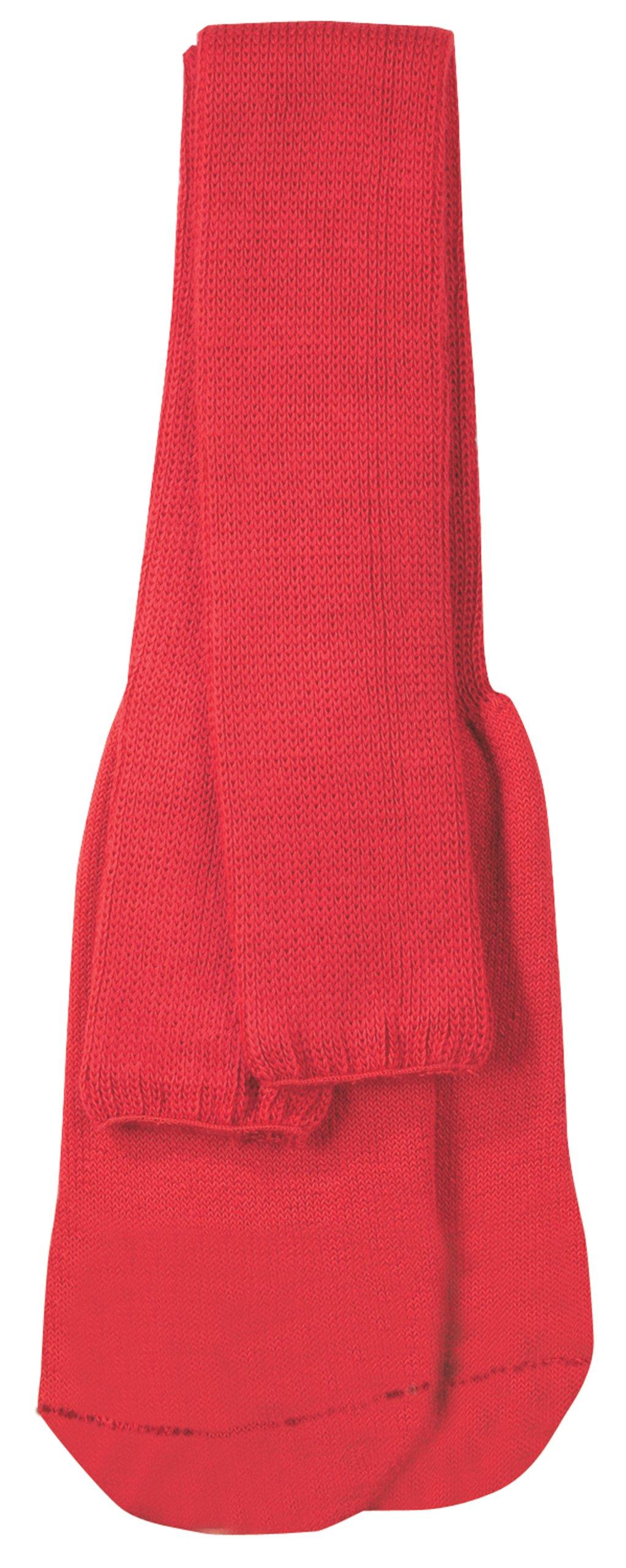 Markwort Soccer Socks-Pair of 6, Child, Scarlet by Markwort
