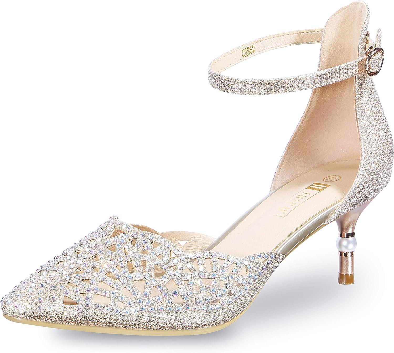 Bridal Kitten Heels