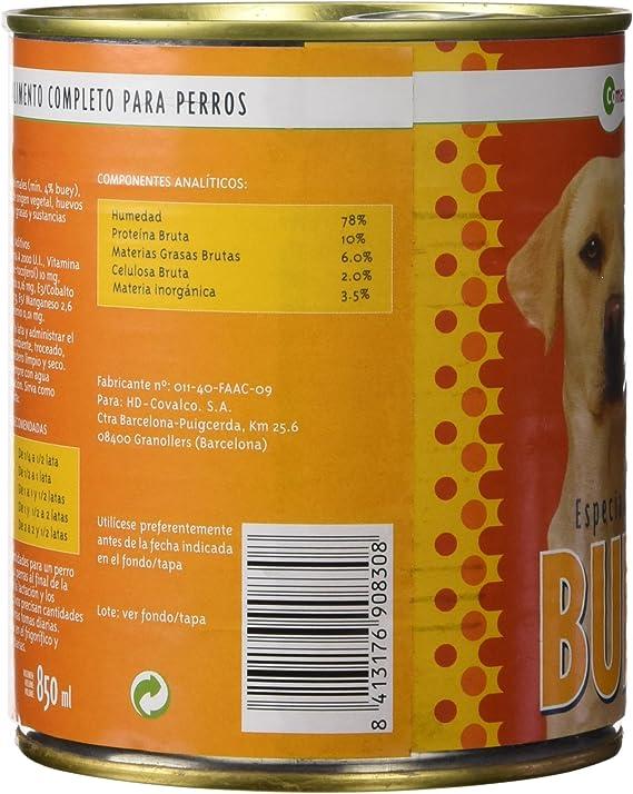 Comascota Buey Comida para Perros - Lata 0,8 kg: Amazon.es ...