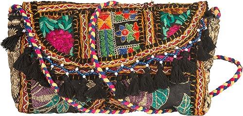 Amazon.com: Tribe Azure Satchel Quilted Purse bolso bolsa ...