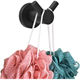 SAFETY+BEAUTY Bathroom Robe Hook, Towel Hanger, SUS304 Stainless Steel Constructed Rust Proof for Lifetime Use (Matte…