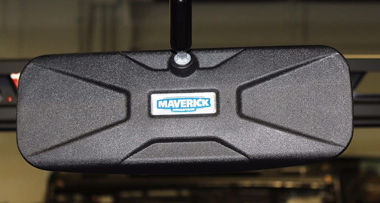 for Pro-Fit cage with Mirror Tab pictured Maverick Advantage DELUXE BOLT ON Rear View Mirror 12 W x 4 1//2 T for 2015 Polaris Ranger 570