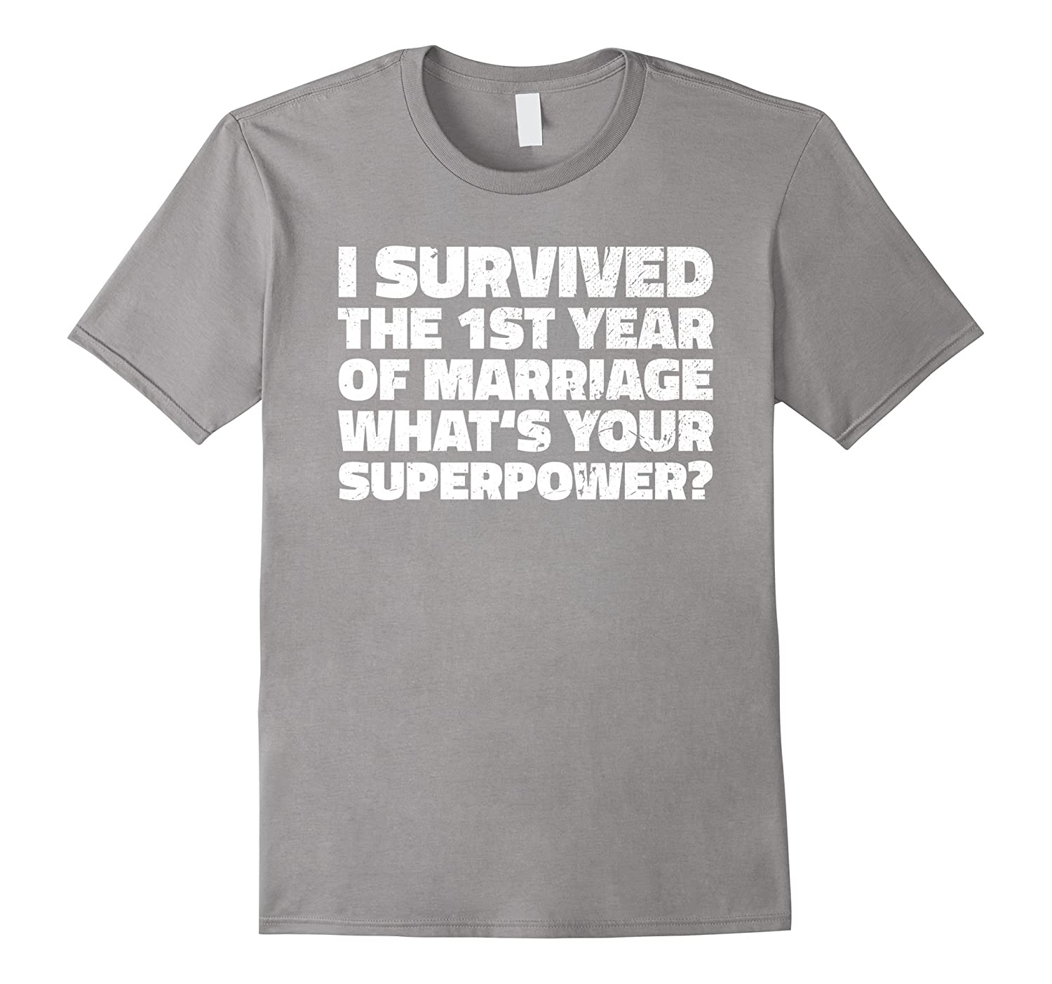 I Survived My First Year Of Marriage T Shirt Wedding Tee Vaci Vaciuk
