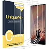 [2 Pack] UniqueMe Screen Protector For Samsung Galaxy Note 10 Plus/Samsung Galaxy Note 10+/Note 10 Plus 5G,TPU Clear Soft Fil