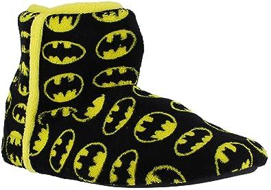 Polaire Hommes Batman Traction Chaud Sur Pantoufles Bottes Noires Uk 8 sjZZ6c2Eyt