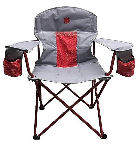 Amazing Omnicore Designs New Standard Xxl Big Tall Super Heavy Duty Padded Mesh Folding Camping Chair 500 Lb 300 Lb Capacity Interior Design Ideas Lukepblogthenellocom