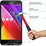 DMG 2.5D 9H Tempered Glass for Asus Zenfone Max (Bubble-Free No Fingerprints Anti-Scratch Oil Coated Washable)