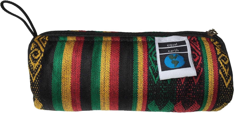 NUEVO FUNKY estuche neceser Art Craft étnico colores rasta – Comercio justo: Amazon.es: Oficina y papelería