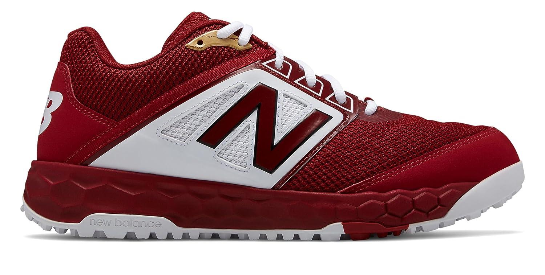 [New Balance(ニューバランス)] 靴シューズ メンズ野球 3000v4 Turf Crimson with White ホワイト US 9 (27cm) B07FRYR8KT