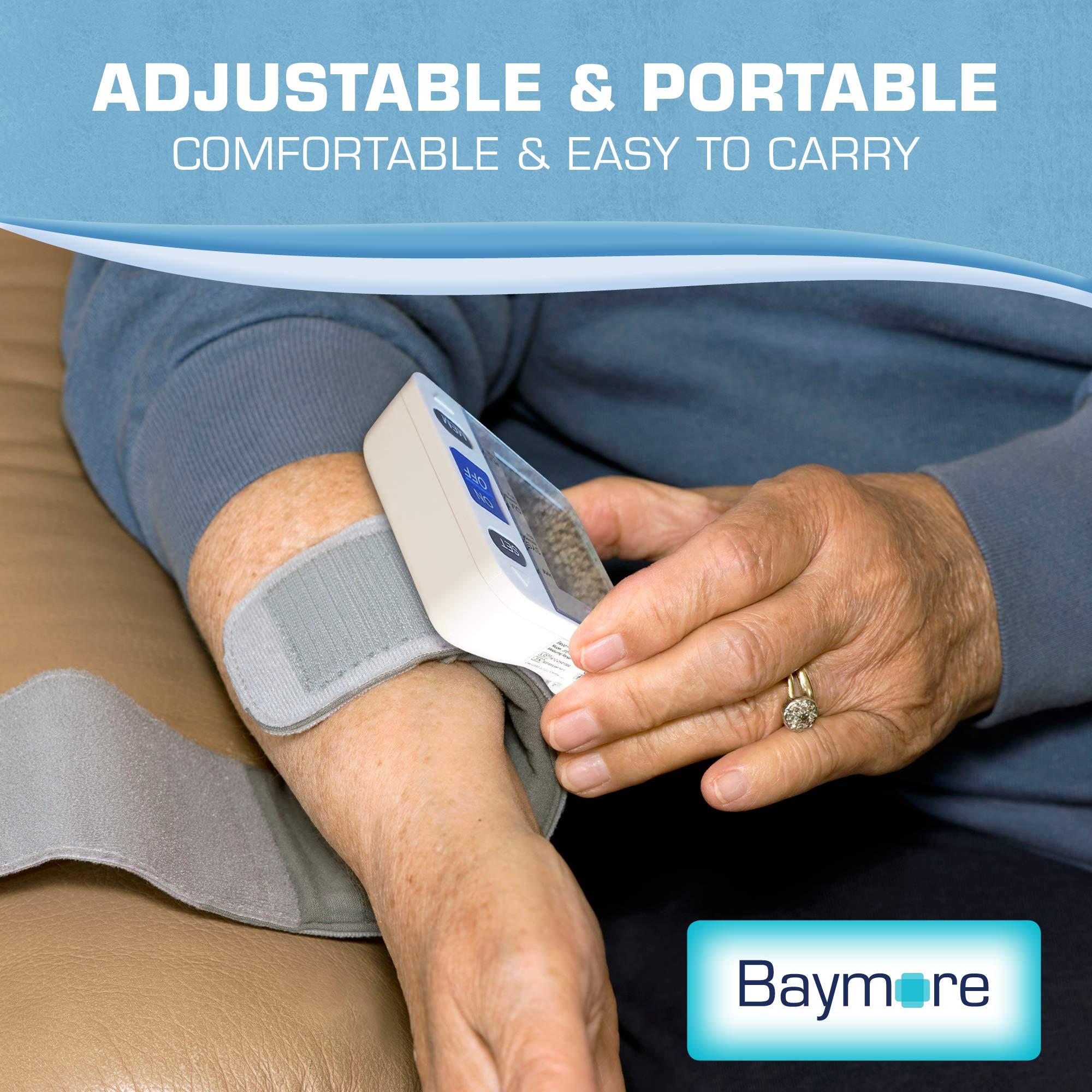 Baymore Digital Wrist Blood Pressure Monitor Cuff by Baymore (Image #6)