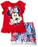 Amazon Price History for:Disney Girls' Minnie Mouse Woven Short Set