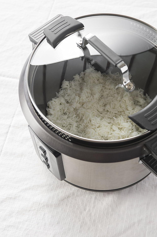 Cuiseur de riz/—p/âtes 2 en 1 Chauffe Riz