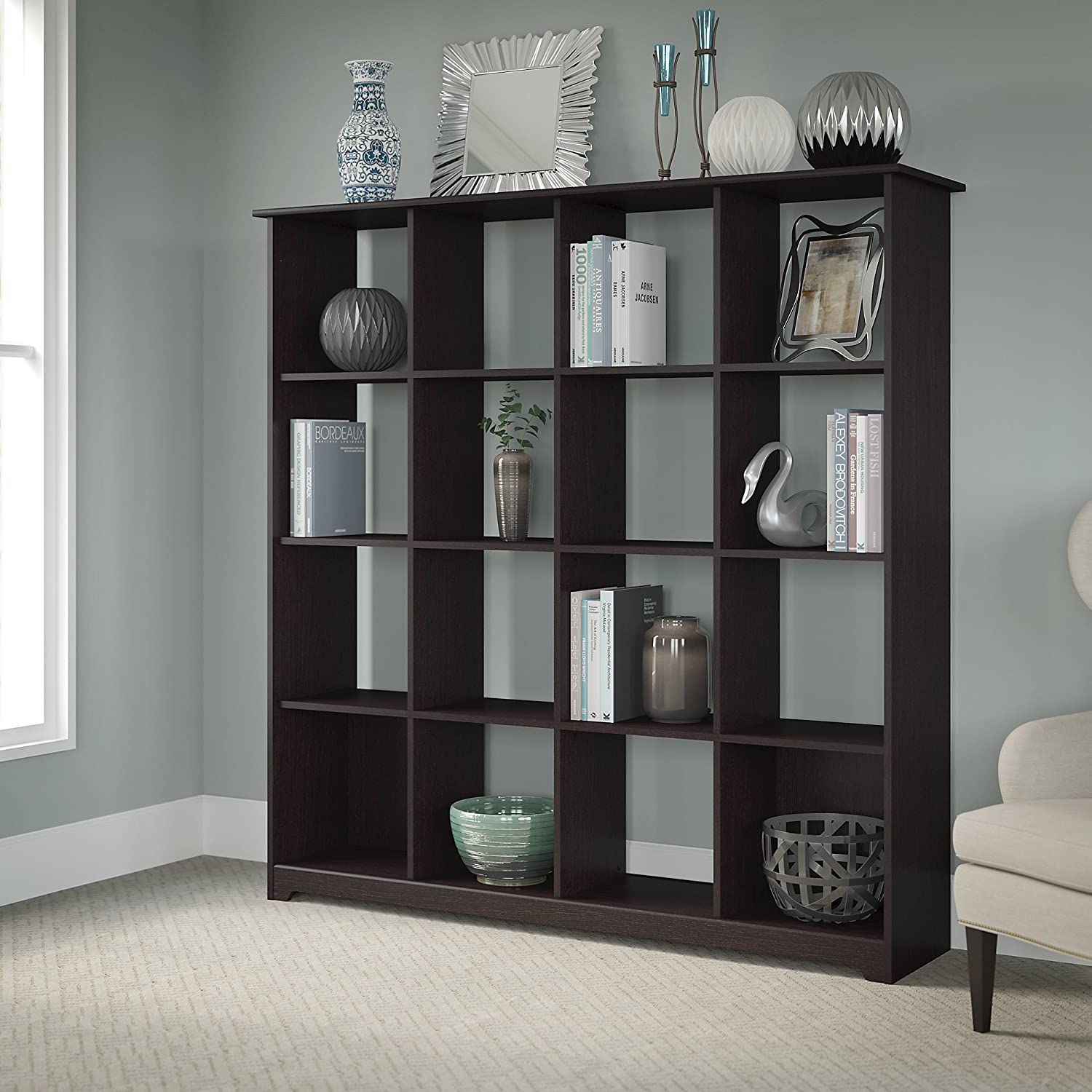 Cabot 16 Cube Bookcase Bush Industries WC31803-03