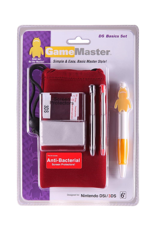 GameMaster Nintendo DS Basics Kit (Dark Red): Video Games