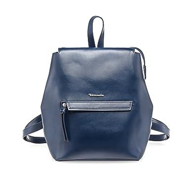 Tamaris Damen Handtasche BABETTE Backpack, Rucksack, 30x20x13 cm (B x H x T), Farbe:blau
