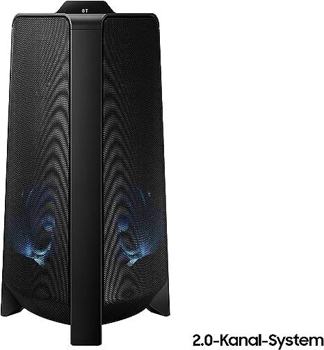 Samsung Sound Tower MX-T50 - Altavoz (Bluetooth, Sistema de 2 Canales, Amplificador de Bajos, Modo Karaoke): Amazon.es: Electrónica