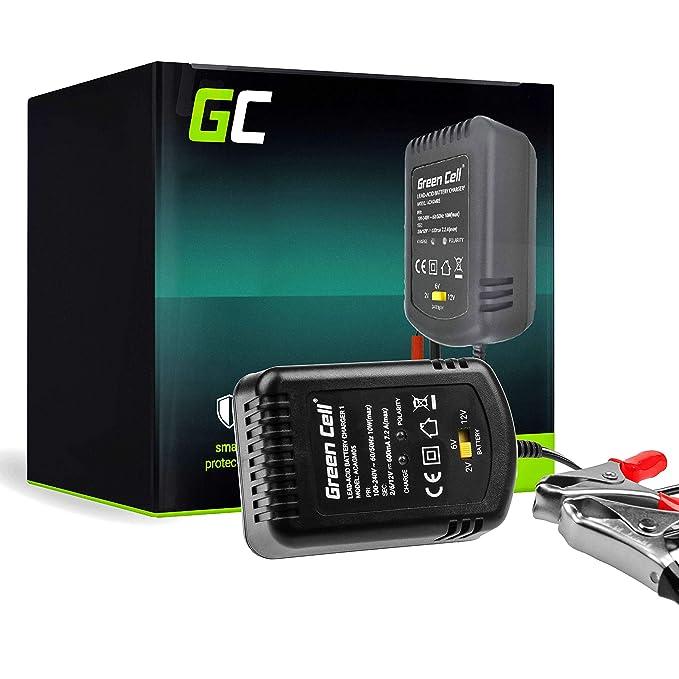 Green Cell® Cargador de batería (AGM, Gel, MF, SLA, VRLA ...