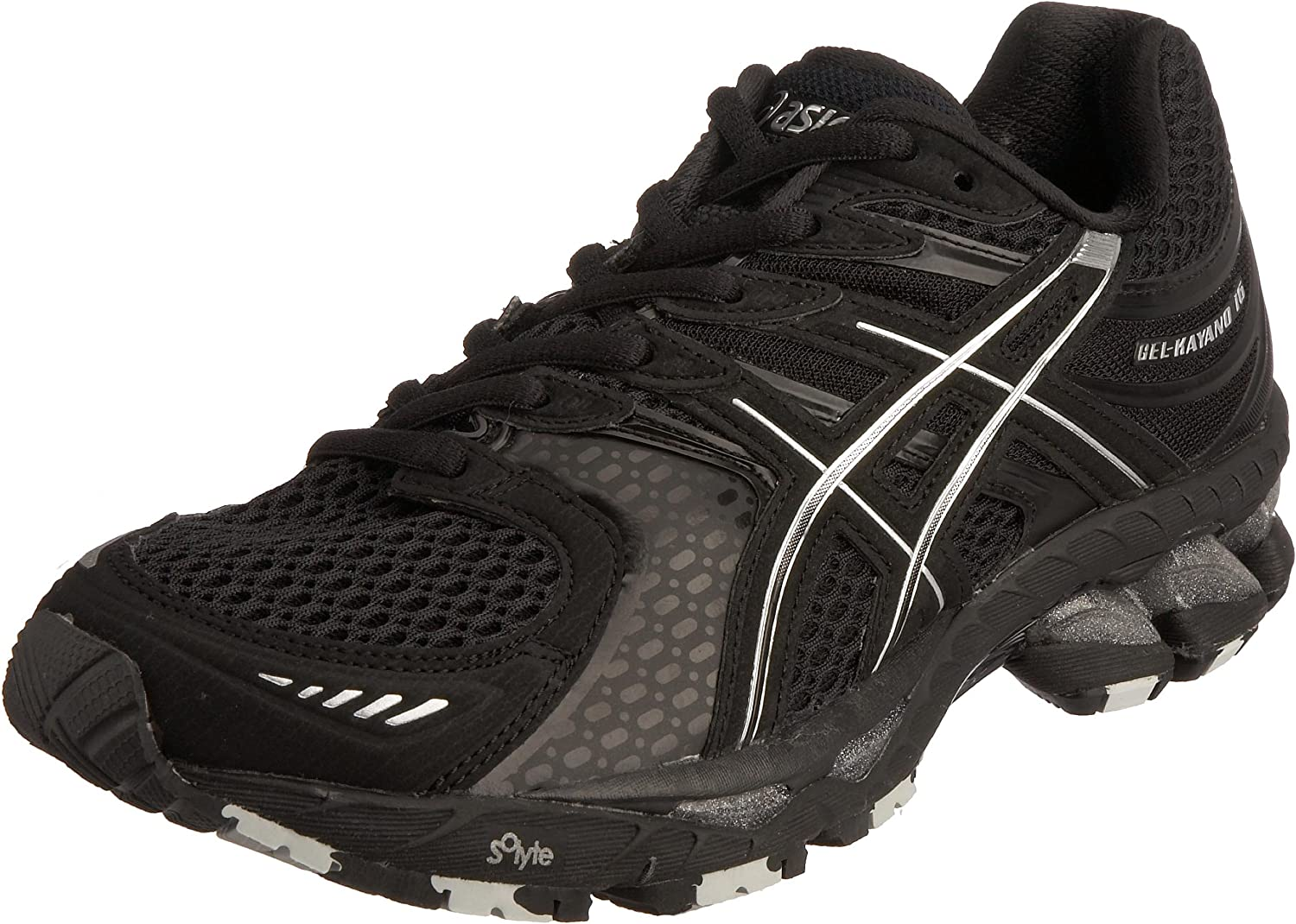 Asics Gel Kayano 16 Zapatilla de Running, Color Negro, Talla 38 EU: Amazon.es: Zapatos y complementos