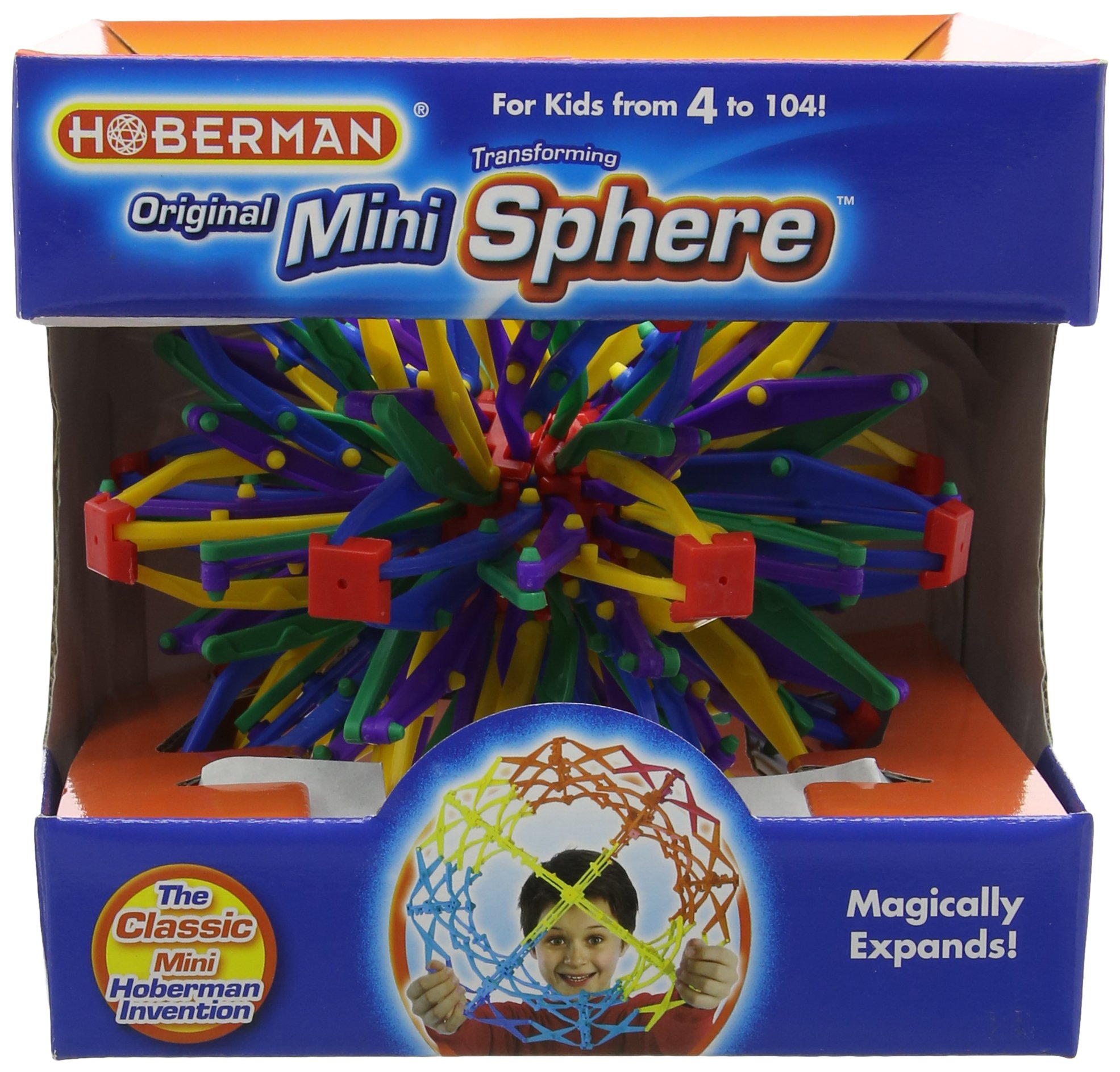 Hansen M1301 Rainbow Hoberman Mini Sphere