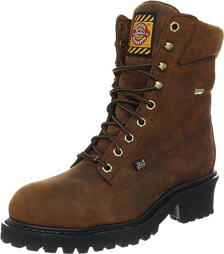 Justin Original Work Boots Mahogany