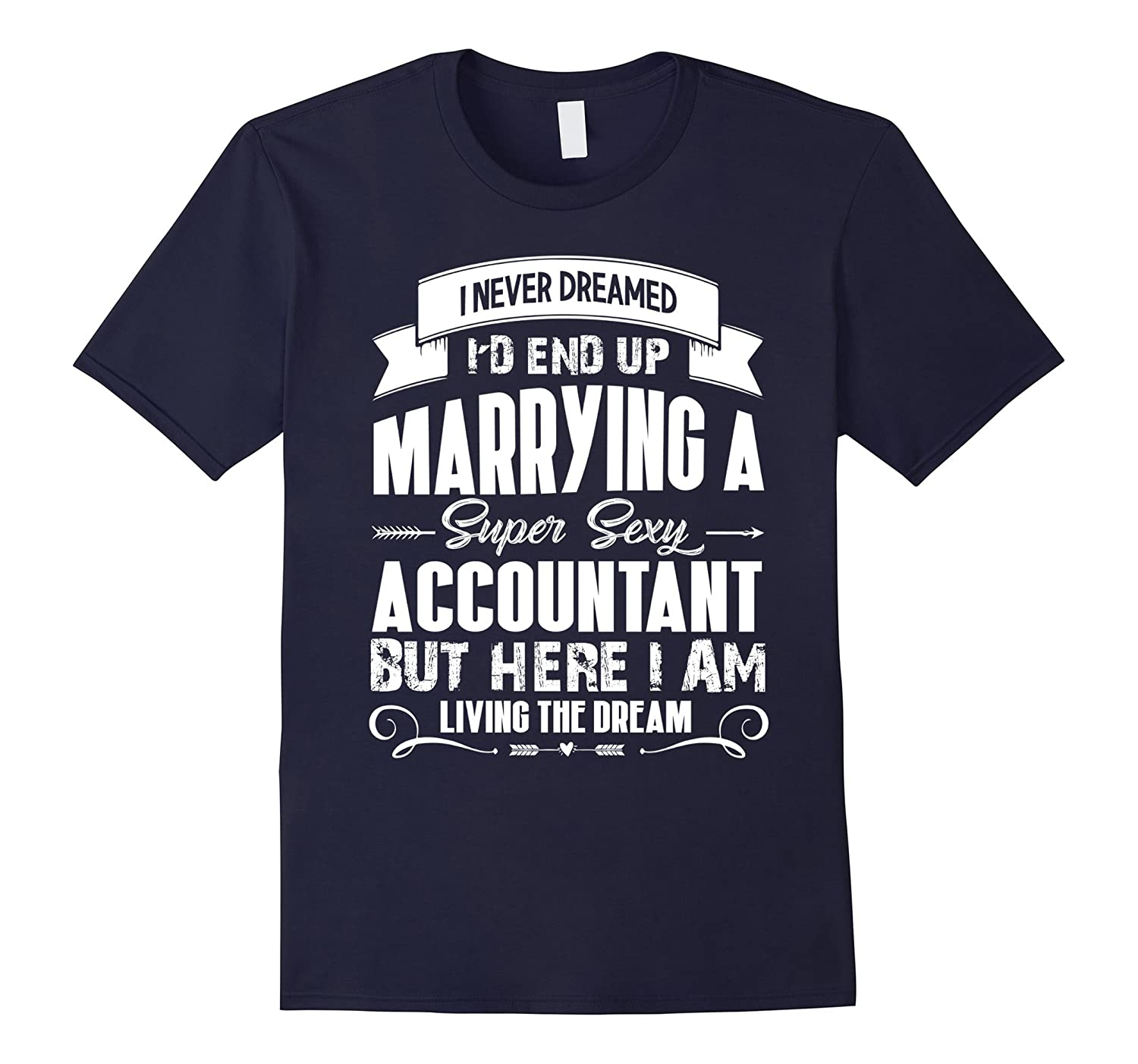 Accountant tshirt i love my super sexy Accountant-TD