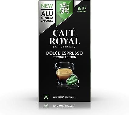 Lot De 100 Capsules De Café Intenso Compatibles Machine Nespresso Note Espresso