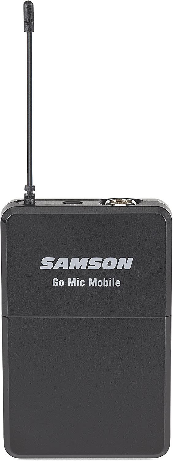 Samson Go Mic Mobile Professional Lavalier Wireless System for Mobile Video