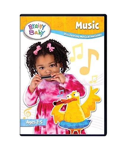 Brainy Baby Music DVD Discovering Musical Horizons Deluxe Edition