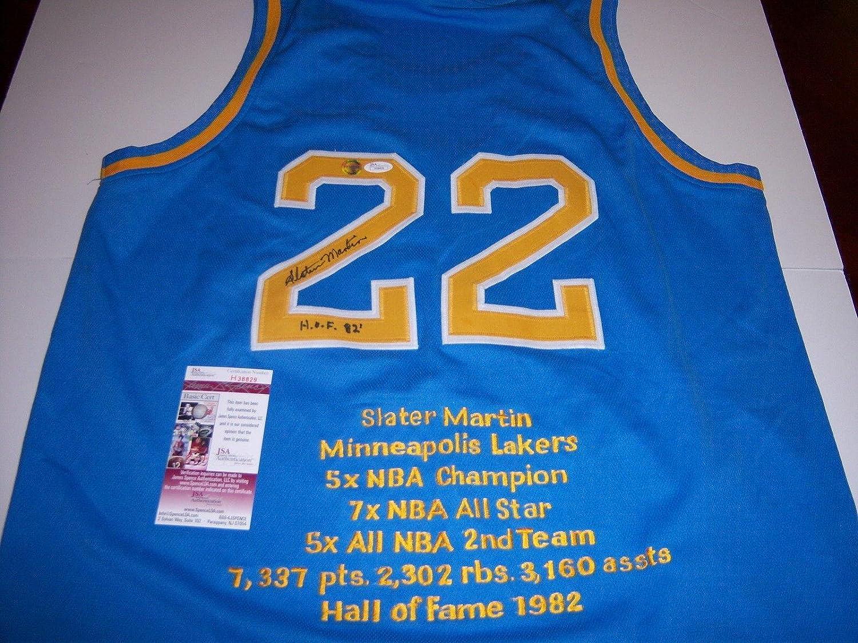 high quality Slater Martin Signed Jersey texas Longhorns hof coa