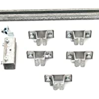 KH Industries FTCT-FL-KIT50 C-Track 50 Festoon Kit for Flat Cable Trolley Car System