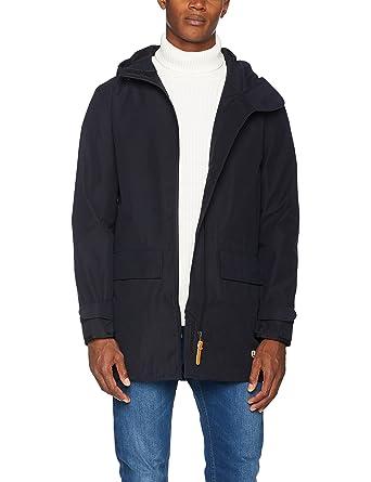 Armor.lux Duffle Coat Court, Manteau Homme, (Rich Navy), Large (Taille Fabricant: L)