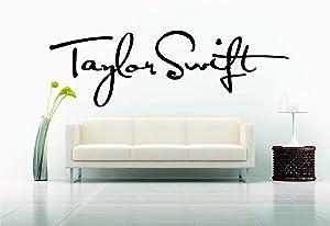 Wall Car Vinyl Decal Sticker Mural Swift Singer Girl Sexy Hot Pop Sign Signature